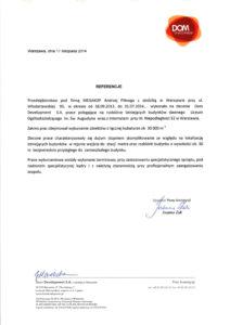 referencje dla megakop - rozbiórka budynków w warszawie