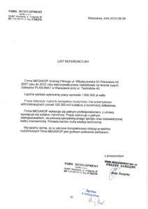 referencje dla megakop dotyczące zleconych rozbiórek w warszawie