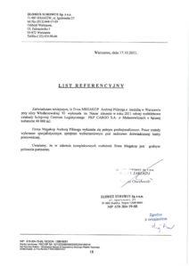 referencje dotyczące wykonanej rozbiórki w warszawie